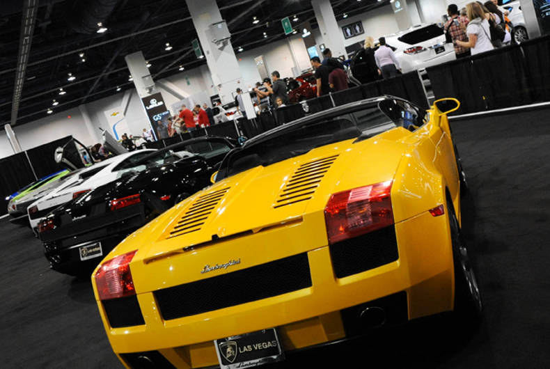 Motor trend auto show las autos post for Motor trend international auto show las vegas